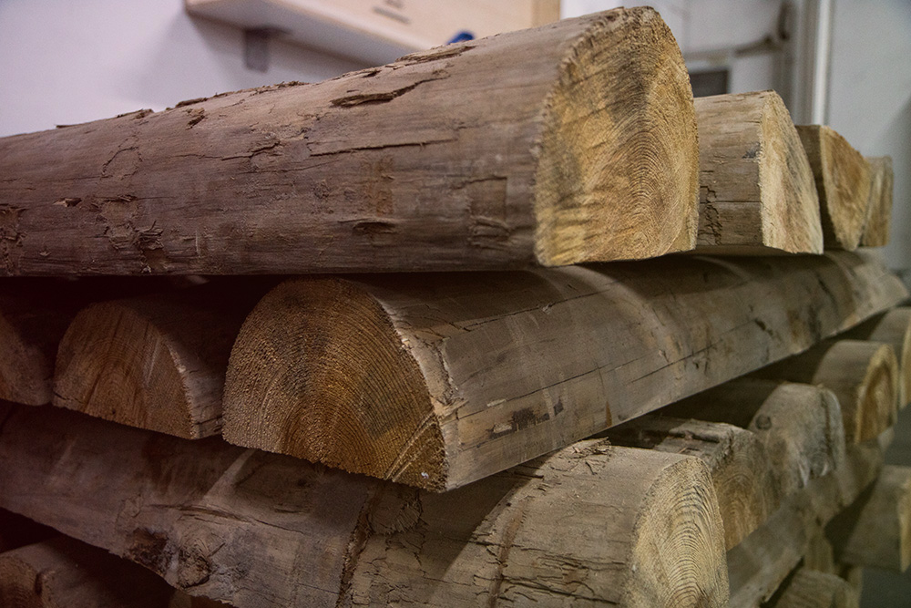 Wood as raw material